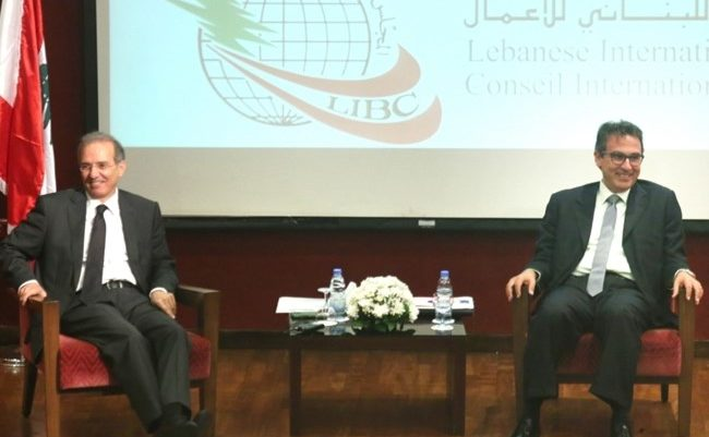 Andary and Bifani underlined the importance of respecting international laws on money laundering and tax evasion.(The Daily Star/Hasan Shaaban)